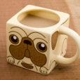 Cube Pug Mug