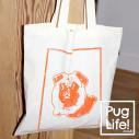 PugLife! Tote Bag