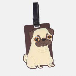 Pugs & Kisses Travel Suitcase Tag